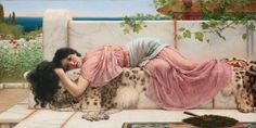 John William Godward - English painter 1861 - 1922