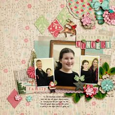 Shabby Christmas kit from Shabby Miss Jenn page by Julie Long template: Fiddle Dee Dee Freebee 73