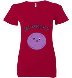 Member Berries Bella Ladies Deep V-Neck Shirt