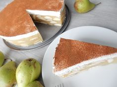 Nepečený hruškový dort Vanilla Cake, Tiramisu, Cheesecake, Sweets, Ethnic Recipes, Gummi Candy, Cheesecakes, Candy, Goodies
