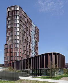Maersk Tower, Copenhagen, CFMøller Architect, photo by @chollewa