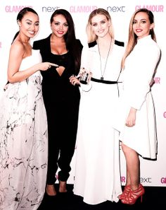 Little Mix. Perrie Edwards. Leigh Anne Pinnock. Jade Thirlwall. Jesy Nelson.