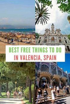 Best free things to do in Valencia, Spain. Travel in Europe.