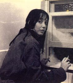 Polaroid of Shelley Duvall on set of The Shining