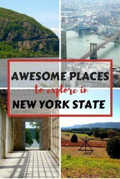 People often associate the state of New York with New York City, but it is a big state! Think mountains, lakes, river life, country towns and farm land in addition to big city culture. Our travel wish list for New York is always expanding..here is a list of all you can do and see in this great state, with and without kids.