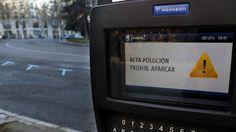 Mañana solo podrán circular por Madrid los vehículos con matrícula impar