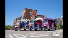 Burger King | PRIDE RIDERS 🌈 Creative Advertising, Great Videos, Pride, To Go, Empty, King, Youtube, Ads Creative, Gay Pride