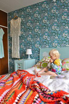 Bedroom by Smilerynker, via Flickr