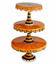 stack cake, fireflies, plate set, cake stands, halloween stack, happi halloween, chase firefli, halloween cakes, cake plates