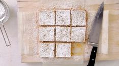 Watch Martha Stewart's Lemon-Coconut Tofu Squares Video. Get more step-by-step instructions and how to's from Martha Stewart.