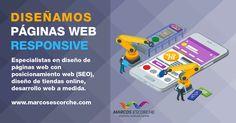 #Diseñoweb #FelizLunez  Especialistas en diseño de #páginas web con #posicionamientoweb ( #SEO ) https://www.marcosescorche.com