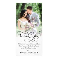 #lovely script wedding thank you card - #GroomGifts #Groom #Gifts Groom Gifts #Wedding #Groomideas Wedding Thank You Cards, Love Cards, Bridal Gifts, Thank You Gifts, Script, Groom Gifts, Place Card Holders, Templates, Bride