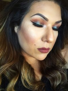 #TheBeautyBoard Makeup of the Day: Shimmer by Glamrezy. Upload your look to gallery.sephora.com for the chance to be featured! #Sephora #MOTD