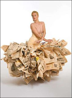 Clothes Made of Garbage: Trashy Fashion at Recycle Now Week