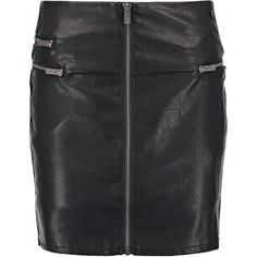 Spódnica Pepe Jeans - Zalando Pepe Jeans, Leather Skirt, Boho, Mini, Casual, Skirts, Black, Fashion, Moda