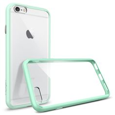 Spigen iPhone 6s - Ultra Hybrid - Mint - Let our Ultra Hybrid® case protect your iPhone 6s in clear transparency.