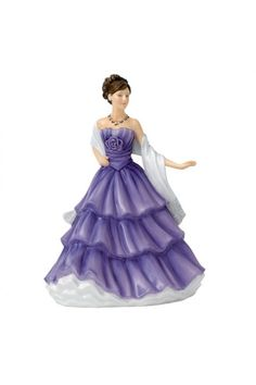Royal Doulton 2015 Petite of the Year, Lydia HN 5727.  At Waterford Wedgwood Royal Doulton, Tanger Outlets, San Marcos, TX or call 1-800-203-4540 or 512-396-4025.  We ship.