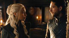 Game of Thrones last episodes season 7- ...that gaze   Jon and Daenerys
