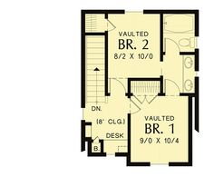 Tiny Craftsman House Plan - 69654AM   Architectural Designs - House Plans