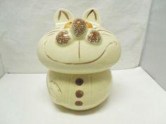 Vintage 1970's Cheshire Cat Cookie Jar / by CatzShinySmiles