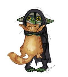 Goblin with a kitty!