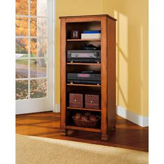 Summit Mountain Media Stand, Multiple Finishes