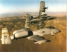 A-10 Warthog! My favorite plane to work on