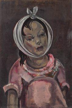 Rage de dents, hacia 1927-1929, de María Blanchard