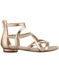 Strike gold in these caged sandals from Marc Fisher