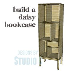 A Bookcase with Legs and Lots of Style