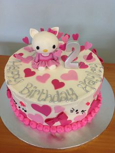 Hello Kitty Cake by Charley's bakery