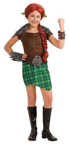 Shrek Forever After - Deluxe Fiona Warrior Toddler / Child Costume