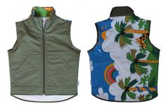 Recycled Fashion: Bunth Clothing Upcycled Kids Blankets into Body Warmers