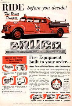 Bruco Fire Truck Ad.