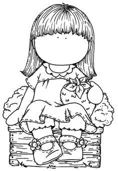 petite fille a la fraise