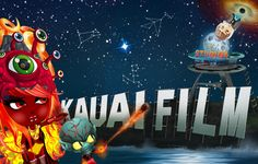 """Version 4.0 of my Kauai Film Studios #Moo Cards--the front. Arrived on 7/27/2016. This edition features my YoWorld characters in sort of a Spies meets X-Files theme. Dr. NoNo waves """"Buh-Bye"""" to Fox Mulder as her bodyguard sends a #fireball his way. He is after Dr. NoNo--or is Dr. NoNo after Fox Mulder? No one knows, but the Truth Is Out There. Constellations: Aries, Phoenix Rising & The Fire Monkey of 2016 #YoWorld #XFiles #DrNoNo #FoxMulder #MooCard #KauaiFilmStudios #KillerCrabBoy…"""
