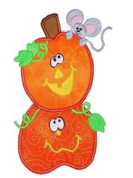 Pumpkin Patch Set- 4 Designs, 3 Sizes! | Halloween | Machine Embroidery Designs | SWAKembroidery.com Kimberbell Kids