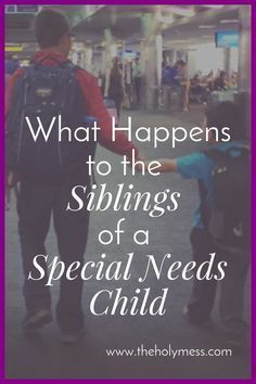 Do you parent a special needs child and worry about his or her siblings? What Happens to the Siblings of a Special Needs Child Autism Help, Adhd And Autism, Autism Parenting, Adhd Kids, Children With Autism, Parenting Advice, Kids And Parenting, Mom Advice, Autism Books