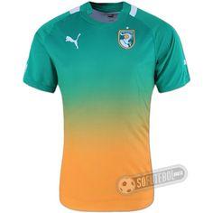 Camisa Costa do Marfim - Modelo II
