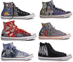 c0bb532cc9a8 NEW CONVERSE DC COMICS JOKER BATMAN SUPERMAN ALL STAR CHUCK TAYLOR SHOES 6  MODEL