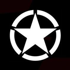 Estrela de cinco pontas adesivos corpo copo tanque de motocicleta carro decalques à prova d'água Venda - Banggood.com