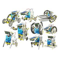 Kit Juguete Educativo Robot Solar 14×1 (c-9921) – #Cebekit | Mundoikos Solar, Kit, Educational Toys, Store