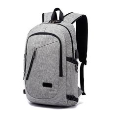 Anti-theft Waterproof Travel Backpack With USB Recharging Function Travel  Store 78395293a2317