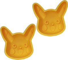 Pikachu cake molds ⊟ Wondering what to serve when your friends come over to play Pokemon X/Y all day, which I'm sure happens somewhere sometime? Make a Pikachu cake with these silicone molds from...