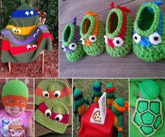 Ninja Turtle Crochet | The WHOot