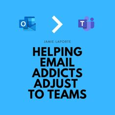 Helping Email Addicts Adjust to Teams Microsoft Applications, Living Under A Rock, Technology Tools, Baby Shower Centerpieces, Activity Days, I Got You, Workplace, Addiction, Stress