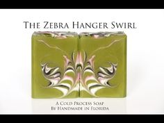 The Zebra Hanger Swirl - YouTube--These would be good rare disease fundraisers or in a comfort basket for a mom of KWSNs!!!