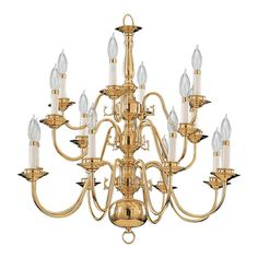 Buy the Quorum International Polished Brass / Solid Brass Direct. Shop for the Quorum International Polished Brass / Solid Brass Williamsburg 16 Light 3 Tier Chandelier and save. Simple Chandelier, Brass Chandelier, Chandelier Lighting, Chandeliers, Polished Brass, Solid Brass, Event Room, Dining Room Lighting, Lighting Store