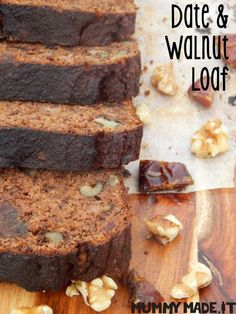 Date and Walnut Loaf – fastPaleo