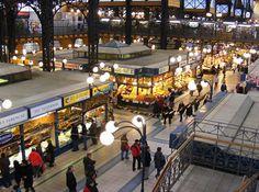 Budapest Central Market Hall (Vasarcsarnok)